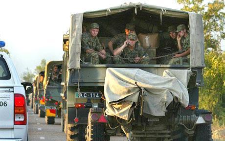 格鲁吉亚对南奥塞梯展开全面军事行动(图)