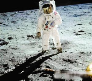 40年前人类首登月球.(资料图片)