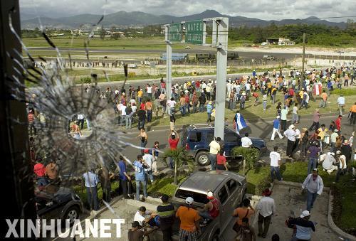 尼加拉瓜总统否认向尼洪边境派兵