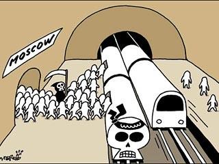 俄外交部要求韩国时报就地铁爆炸案漫画道歉(图)