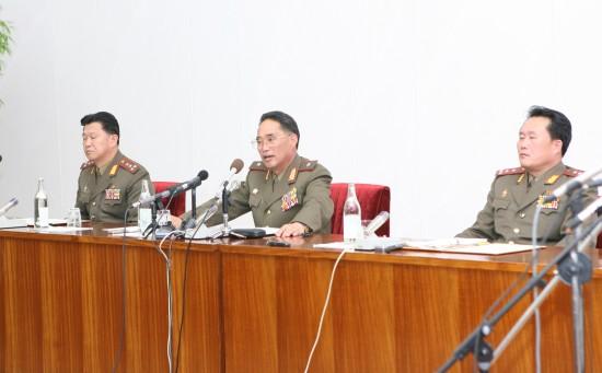 朝鲜军方:如韩国挑衅将就此实现国家统一