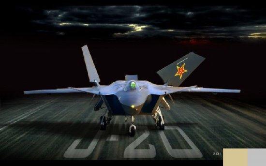 美国媒体热议中国隐形战机曝光(图)