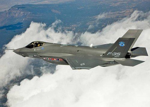 资料图:F-35战机
