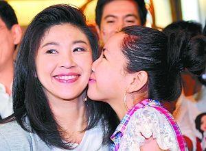 泰国前总理他信的妹妹英拉