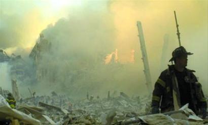 """""""9・11""""发生时的消防人员"""