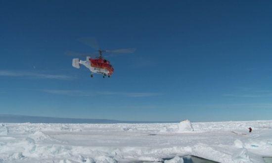 中国直升机成功转移俄被困乘客后者乘澳破冰船离开[1]-