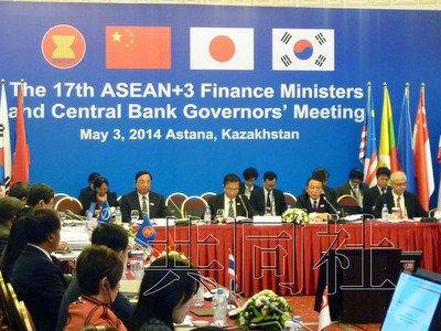 据日本共同社4日报道,东盟(asean)与日中韩三国在哈萨克斯坦首都