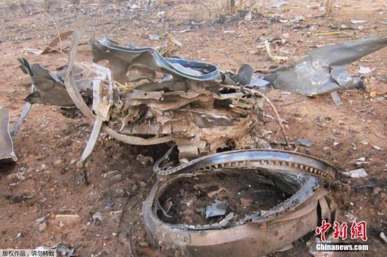 阿航坠毁客机黑匣子受损 驾驶舱语音记录被破坏