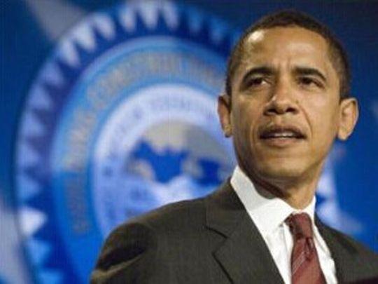 资料图:美国总统奥巴马