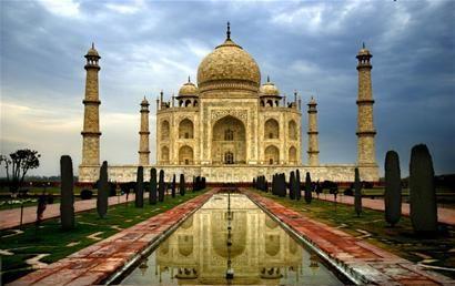 印度旅游地标式建筑泰姬陵 资料图图片