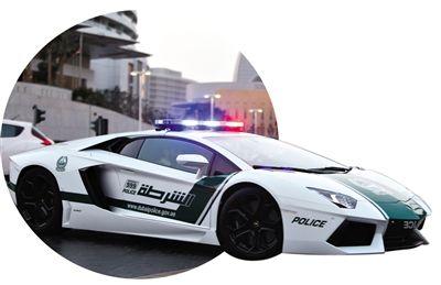 """阿联酋警察坐超跑开罚单 超速者""""求被捕"""""""
