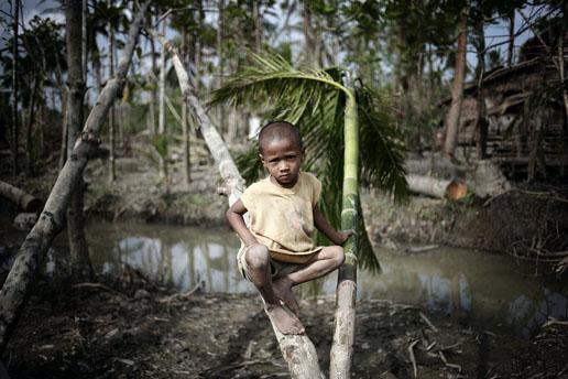 组图:一般新闻组照三等奖-缅甸飓风过后