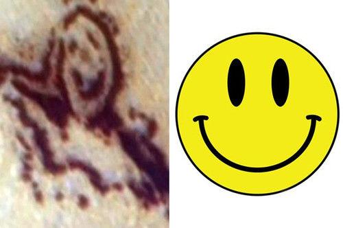 """火星现巨大笑脸图案似外星人""""开玩笑""""(图)"""