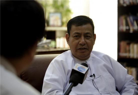 缅甸总统发言人兼宣传部长吴耶突(资料图)