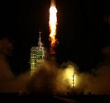 神七火箭发射成功
