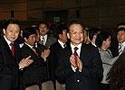 温家宝和韩德洙出席中韩交流年开幕式