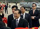 温家宝抵达韩国开始正式访问