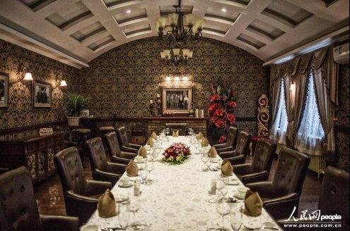 中国人民大学内的俄式餐厅。