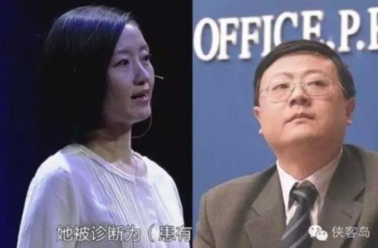 柴静(左图)陈吉宁(右图)