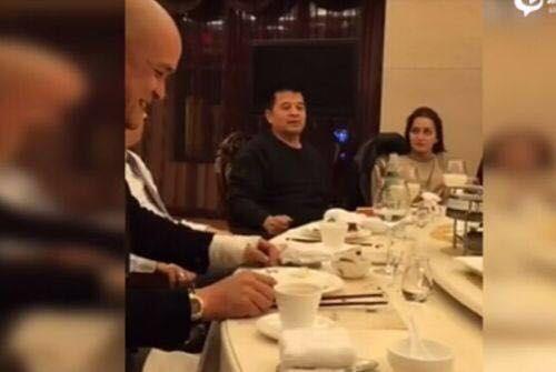 网络曝光毕福剑视频截图