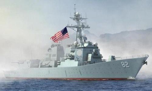 美国军舰拉森号在中国南海巡逻,引发了很多中国人的关注和愤怒