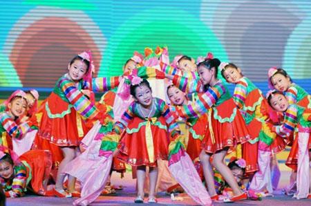 儿童舞蹈造型图片