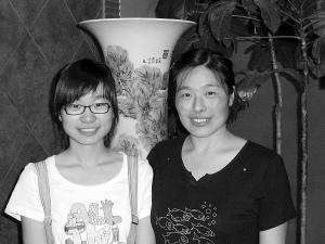 吉林2010年高考理科状元程思佳和母亲