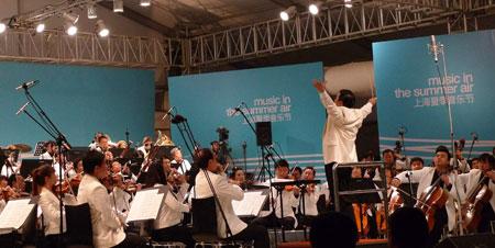 余隆执棒上交在首届上海夏季音乐节