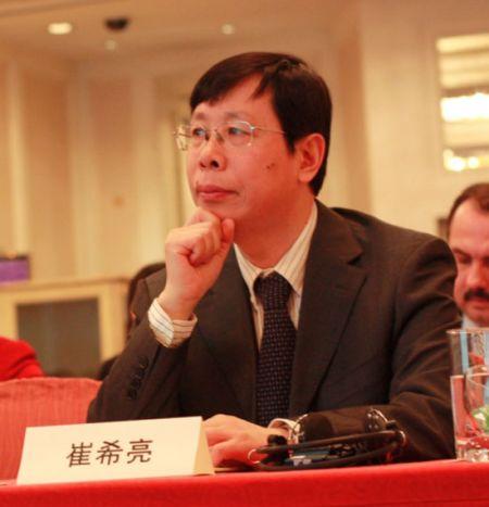北京语言大学崔希亮校长出席2011中国留学论坛