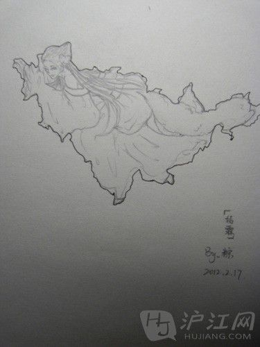 """别出心裁中国省份手绘图:地图""""一秒变美女"""""""