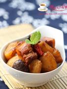 土豆香菇烧肉