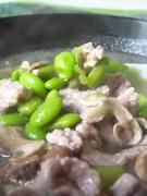 毛豆里脊汆汤