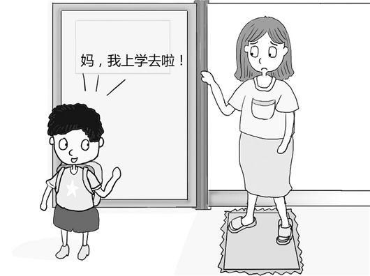 孩子上学全职妈妈心神不宁出现空巢焦虑(图)