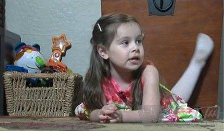 双语:美国3岁女童智商160超爱因斯坦(图)