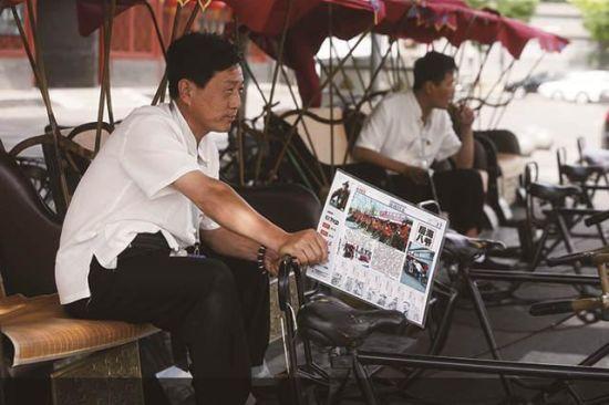 北京什刹海招大学生蹬三轮 月薪6千英语要好图片