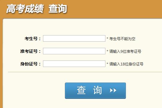 2014年四川高考成绩查询开通