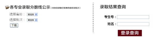 2014年天津师范大学高考录取结果查询