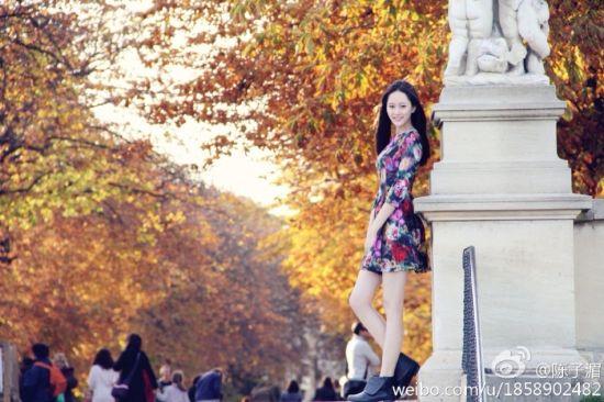 北京语言大学女神学生会主席陈子湄