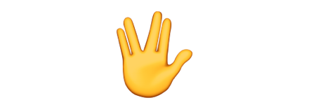 多福多寿:星际迷航Spock加入苹果表情包