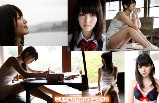 日本制服学生妹清新纯美迷晕宅男