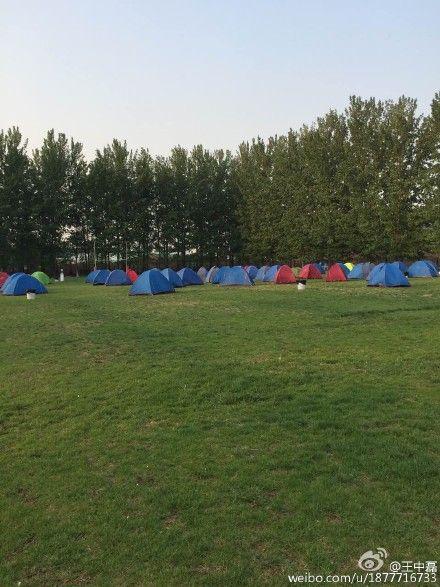 威廉学校的露营活动