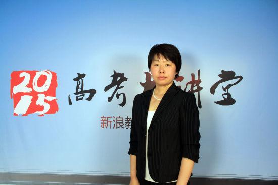 中国传媒大学招办主任侯隽老师