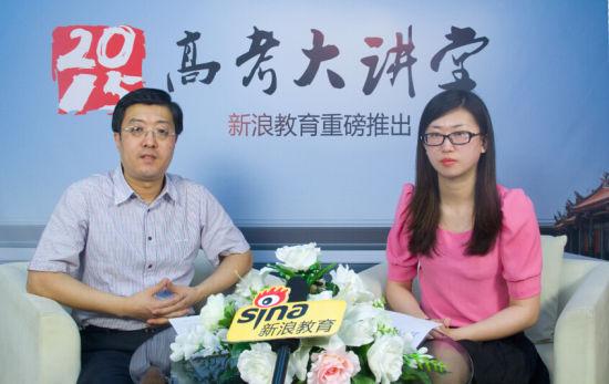 哈尔滨工程大学招生就业处副处长张阳红老师(左)做客新浪