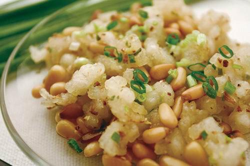 第六天午餐:松子鱼米