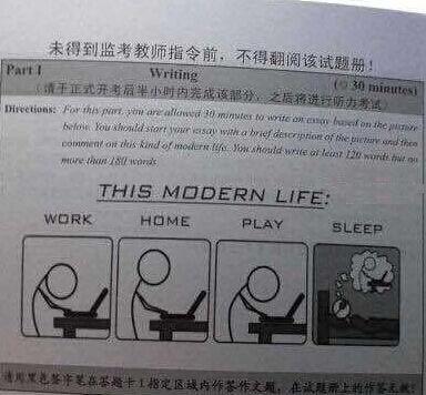 英语四级作文真题范文:科技与现代生活