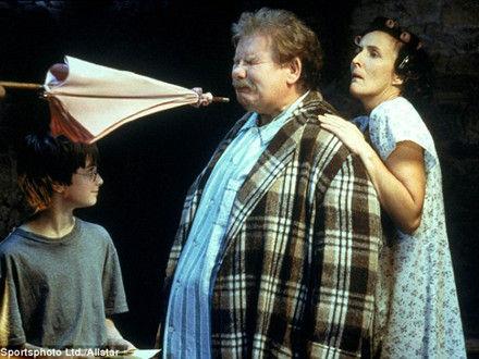 罗琳双语揭秘弗农姨夫为啥讨厌哈利波特(图)