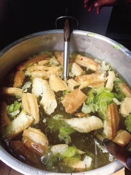 白菜油条汤 网友图