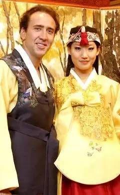 尼古拉斯・凯奇和他的韩裔妻子Alice Kim