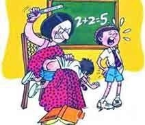 作业未完成女童被打322棍