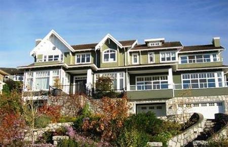 踏访最美丽v城市的城市:西温哥华的合适豪宅家园大连新港别墅图片